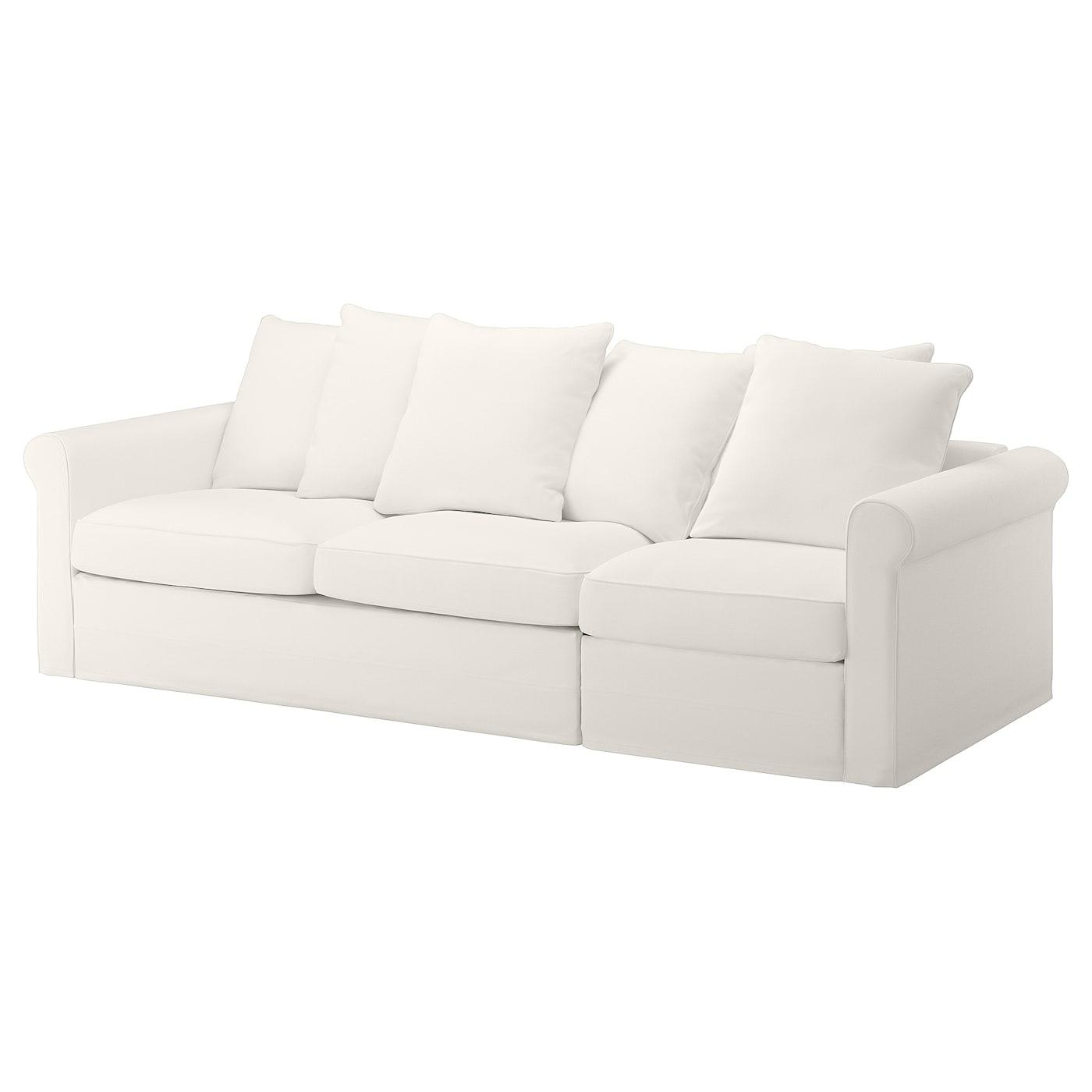 GRÖNLID 2sz. kanapé, Inseros fehér IKEA