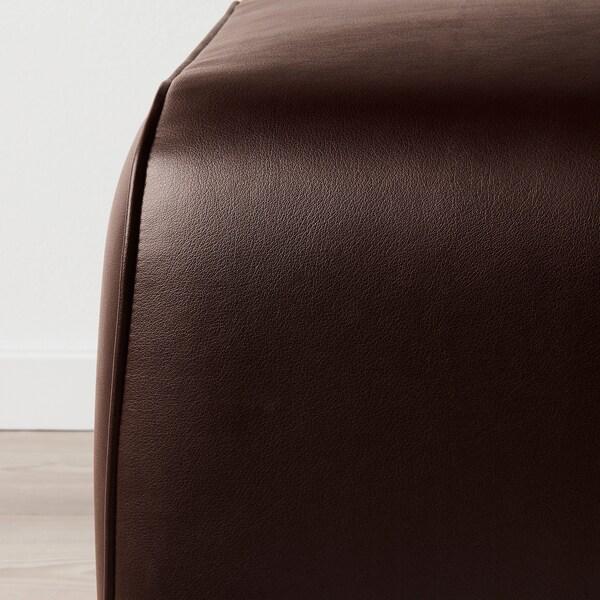 GRÖNLID lábtartó Kimstad sötétbarna 57 cm 47 cm 38 cm