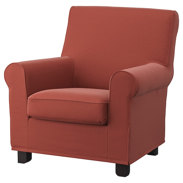 GRÖNLID Fotel, Ljungen világos piros