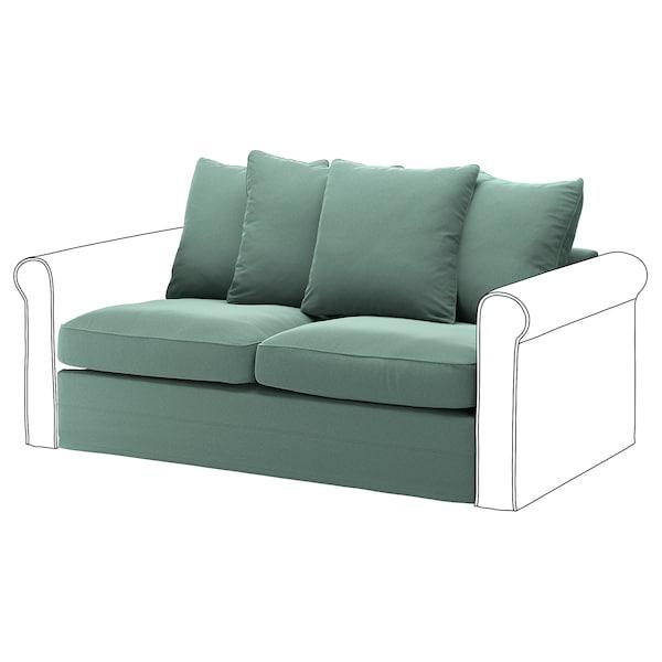 GRÖNLID Takaróelem 2sz nyit. végű kanapéhoz, Ljungen világoszöld