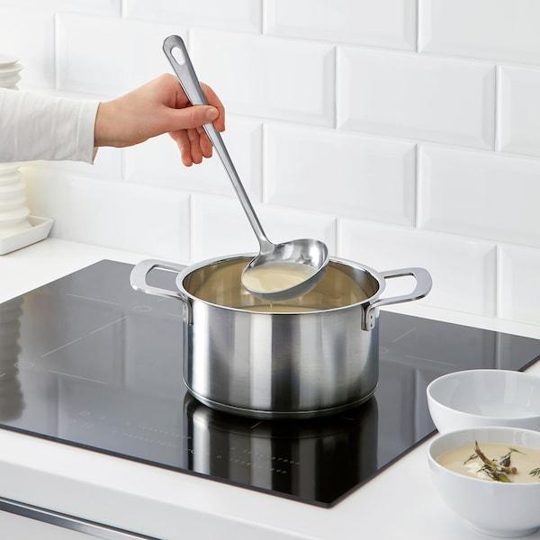 GRUNKA konyhai eszközkészlet, 4 db rozsdamentes