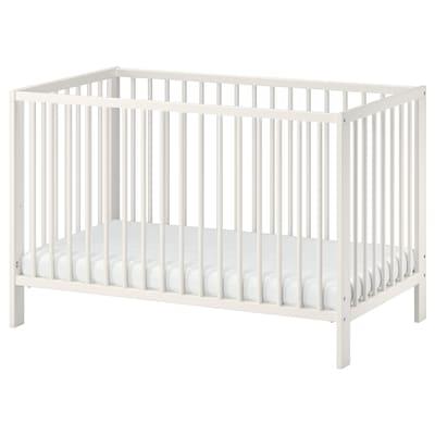 GULLIVER rácsos ágy fehér 123 cm 66 cm 80 cm 60 cm 120 cm 20 kg