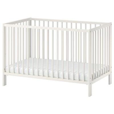 GULLIVER Rácsos ágy, fehér, 60x120 cm
