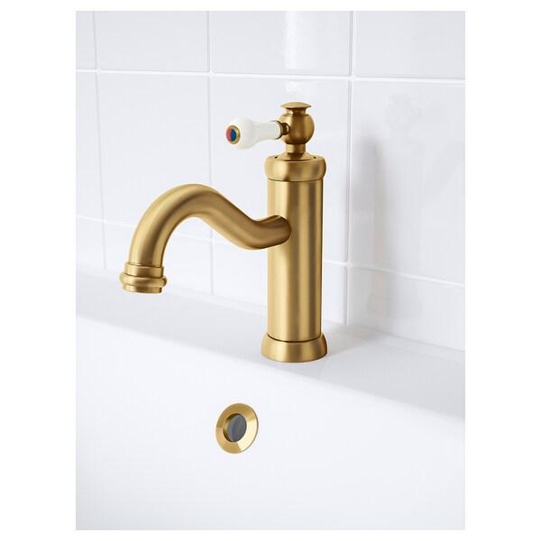 HAMNSKÄR fürdőszobai csap/szűrő sárgaréz 19 cm