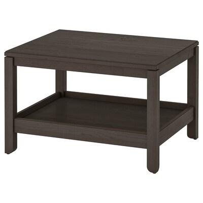 HAVSTA Dohányzóasztal, sötétbarna, 75x60 cm