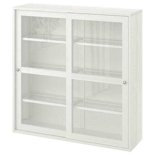 IKEA HAVSTA Üvegajtós szekrény