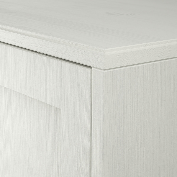 HAVSTA TV tár komb, fehér, 241x47x89 cm
