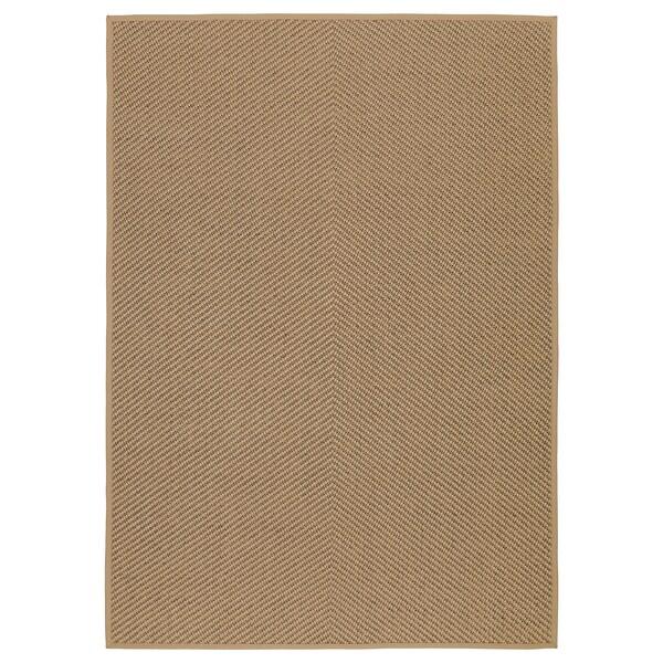 HELLESTED Szőnyeg, síkszövött, natúr/barna, 170x240 cm
