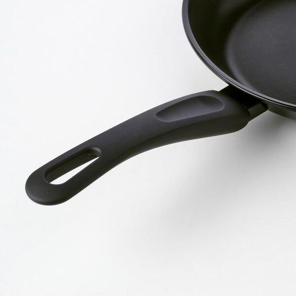HEMLAGAD Serpenyő, fekete, 24 cm