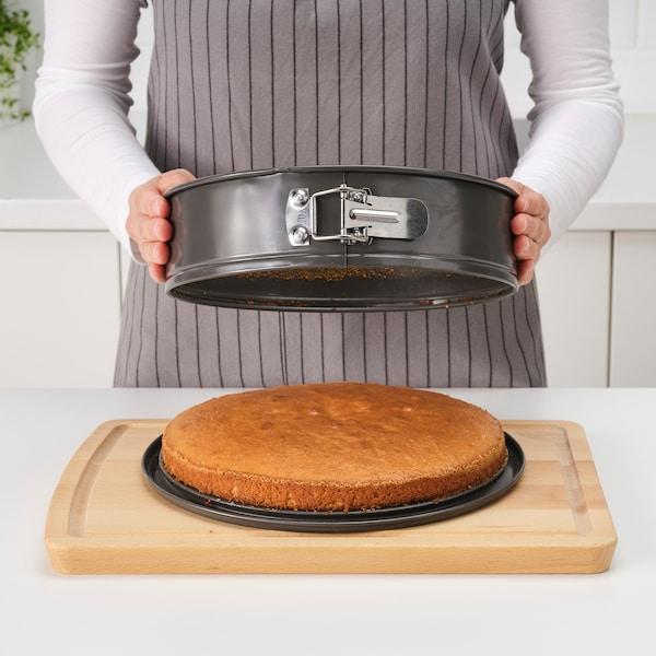 HEMMABAK Kapcsos tortaforma, szürke, 27 cm
