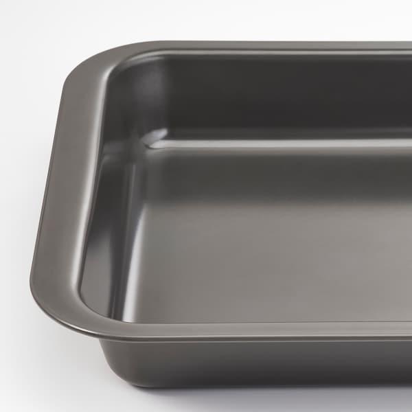 HEMMABAK Pecsenyesütő, szürke, 36x27 cm