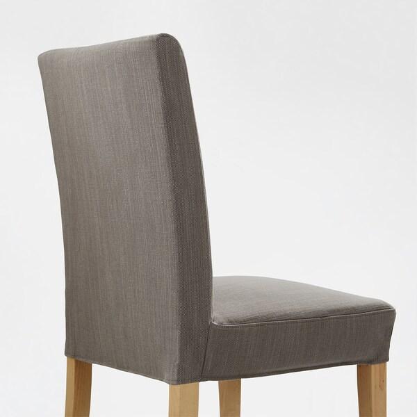 HENRIKSDAL szék nyír/Nolhaga szürke-bézs 110 kg 51 cm 58 cm 97 cm 51 cm 42 cm 47 cm