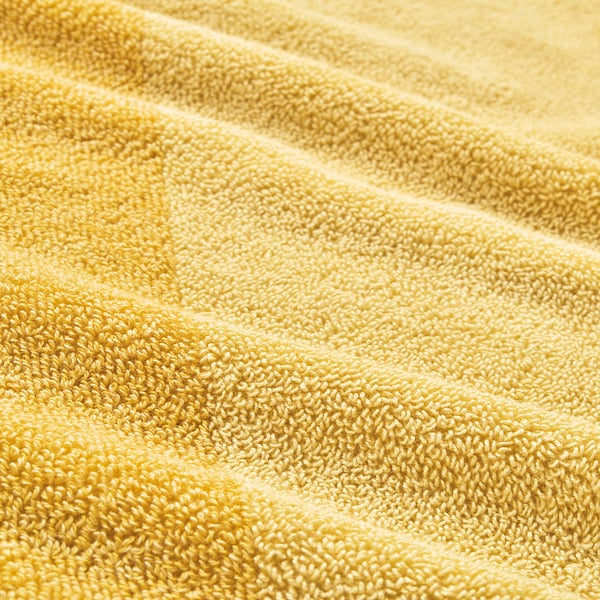 HIMLEÅN Törülköző, sárga/kevert, 50x100 cm