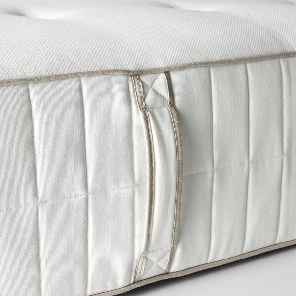 HOKKÅSEN Zsákrugós matrac, kemény/fehér, 180x200 cm