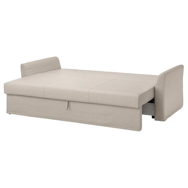 HOLMSUND 3 sz. kinyitható kanapé, Nordvalla bézs