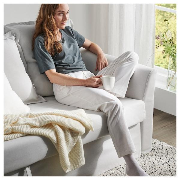 HOLMSUND 3 sz. kinyitható kanapé, Orrsta világos fehér-szürke