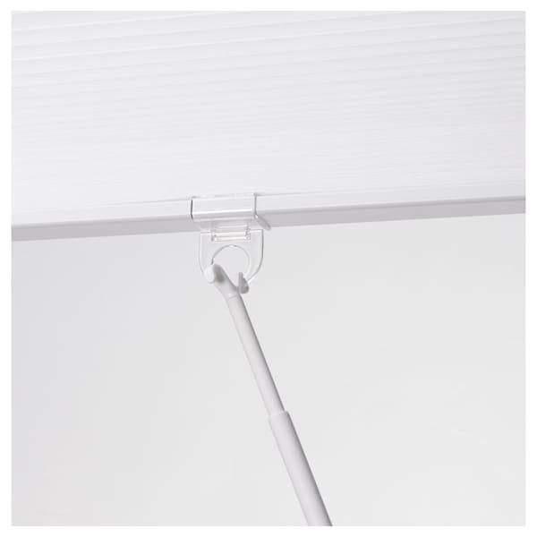 HOPPVALS Cellás redőny, fehér, 100x155 cm