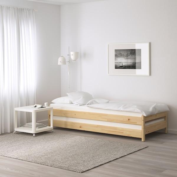 HUSVIKA Rugós matrac, kemény, 80x200 cm