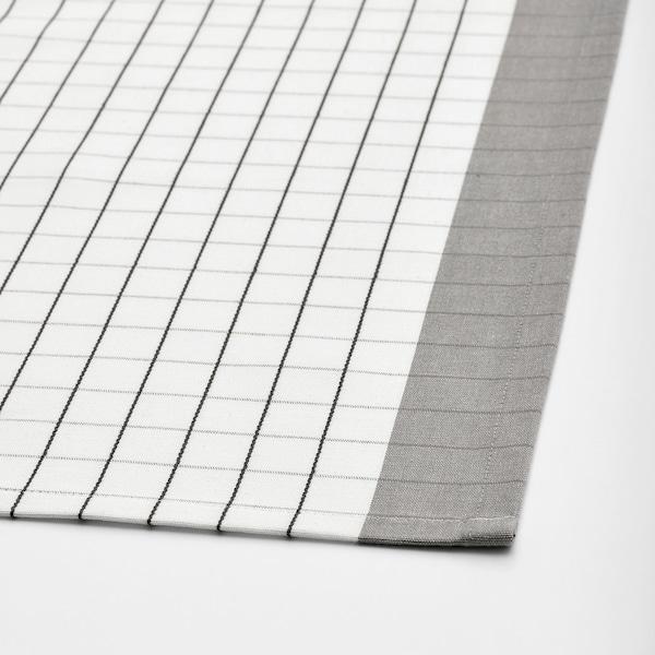 IKEA 365+ asztalterítő fehér/szürke 145 cm 145 cm