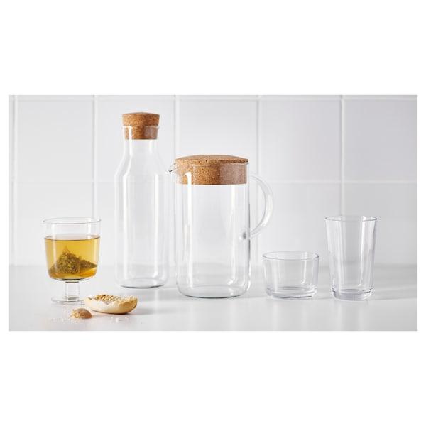 IKEA 365+ Talpas pohár, átlátszó üveg, 30 cl