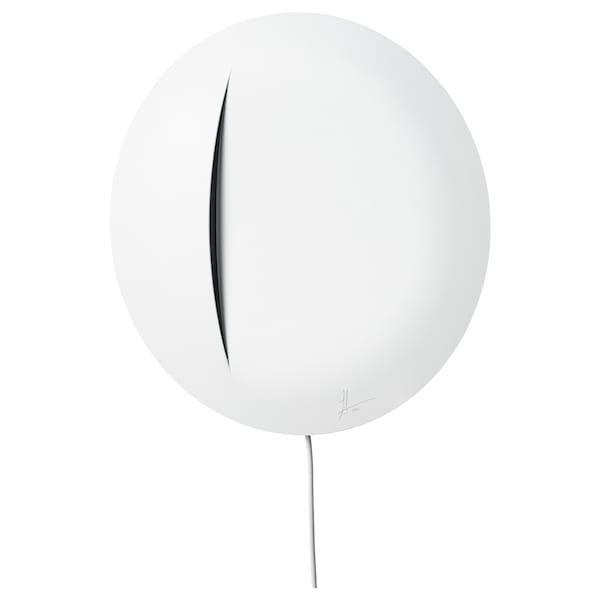 IKEA ART EVENT 2021 LED-es falilámpa, fehér, 30 cm