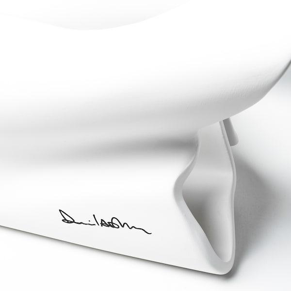 IKEA ART EVENT 2021 Óra, fehér, 40x14x22 cm