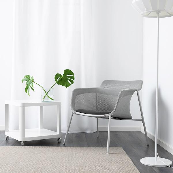 IKEA PS 2017 fotel szürke 72 cm 75 cm 71 cm 49 cm 50 cm 40 cm 120 kg