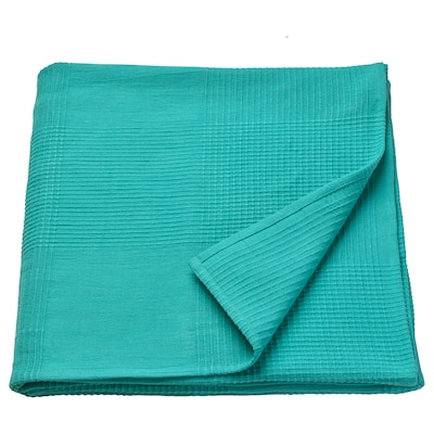 INDIRA ágytakaró türkiz 250 cm 150 cm
