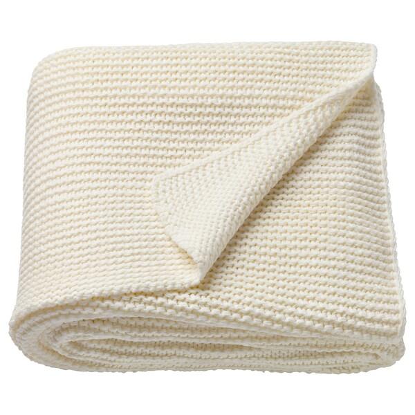 INGABRITTA takaró törtfehér 170 cm 130 cm 1080 gr