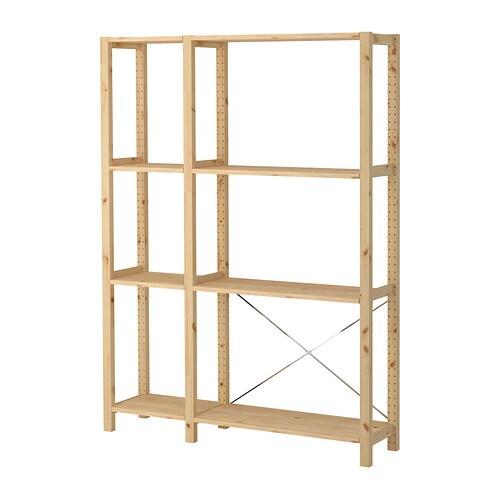 Ivar 2r sz polcok ikea for Ikea scaffali ivar