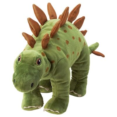 JÄTTELIK Puha játék, dinoszaurusz/dinoszaurusz/sztegoszaurusz, 50 cm
