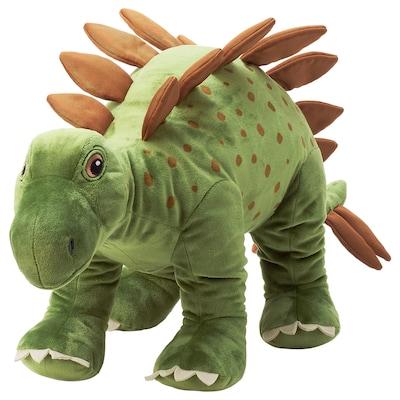JÄTTELIK Puha játék, dinoszaurusz/dinoszaurusz/sztegoszaurusz, 75 cm