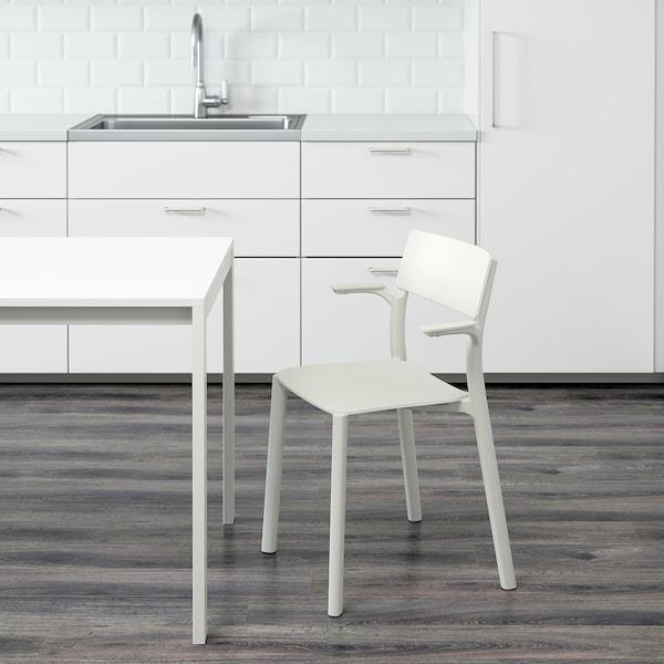 JANINGE Karfás szék, fehér