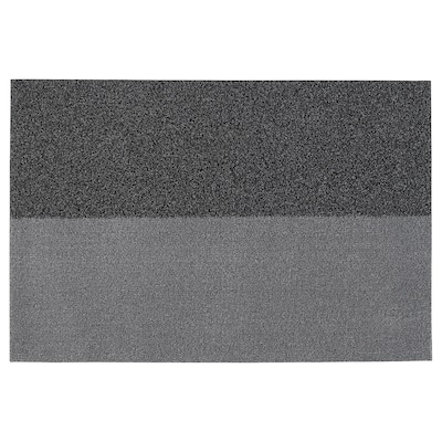 JERSIE Lábtörlő, sszürke, 60x90 cm