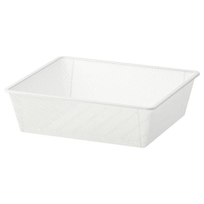 JONAXEL Hálós kosár, fehér, 50x51x15 cm