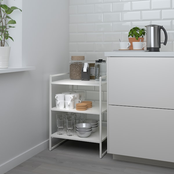 JONAXEL Polcos elem, fehér, 50x51x70 cm