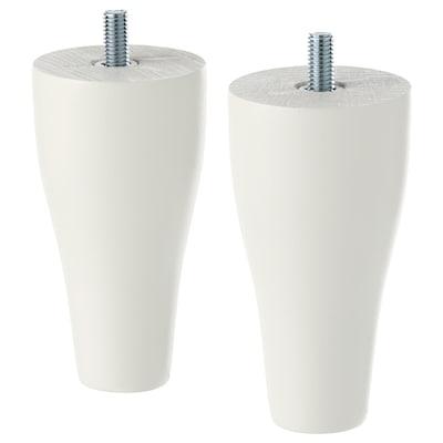 KABBARP Láb, fehér, 10 cm