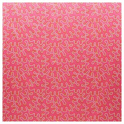 KARISMATISK Méretre vágott anyag, vegyes minták rózsaszín, 150x300 cm