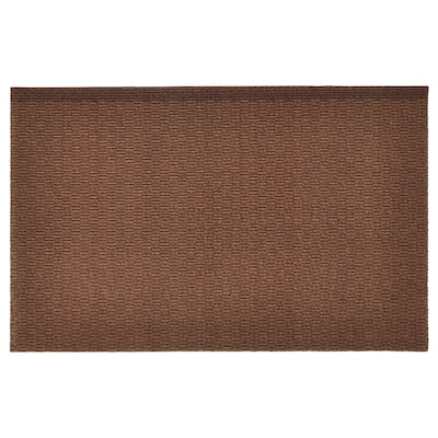 KLAMPENBORG Lábtörlő, beltéri, barna, 35x55 cm
