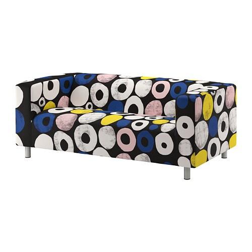 KLIPPAN  2sz kanapé, Sangis többszínű többszínű