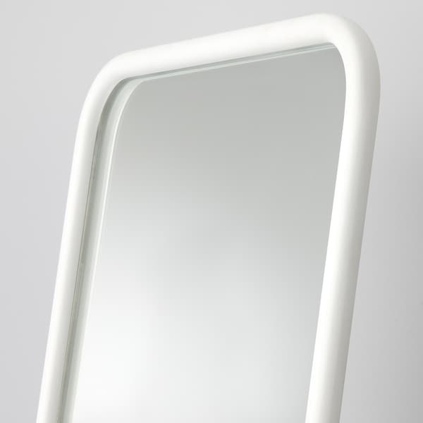 KNAPPER Állótükör, fehér, 48x160 cm