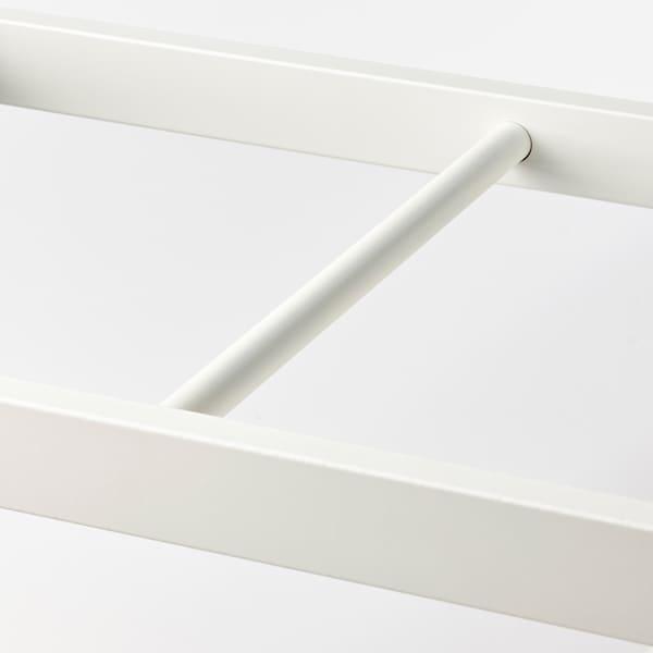 KOMPLEMENT Ruhatartó sín, fehér, 75x35 cm