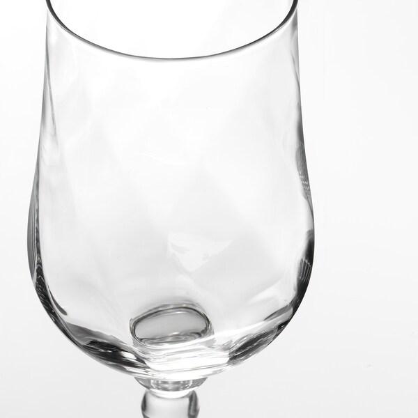 KONUNGSLIG Borospohár, átlátszó üveg, 40 cl