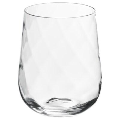 KONUNGSLIG Pohár, átlátszó üveg, 35 cl