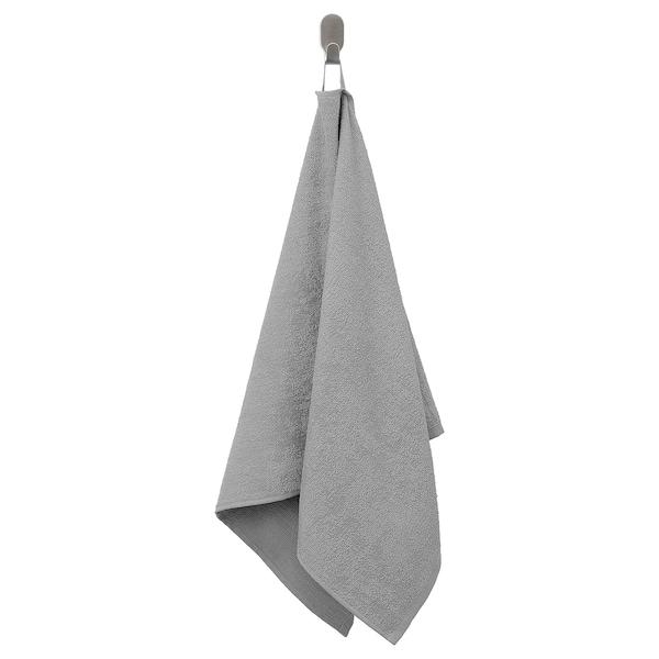 KORNAN Törülköző, szürke, 50x100 cm