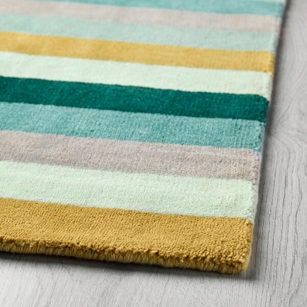 KRÖNGE szőnyeg, rövid szálú kézzel készült/többszínű 240 cm 170 cm 4.08 m² 3010 g/m² 2400 g/m² 7 mm