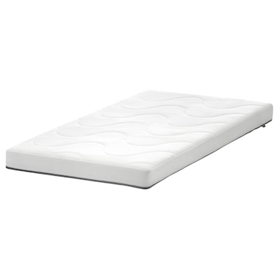 KRUMMELUR Habszivacs matrac rácsos ágyhoz, 60x120x8 cm