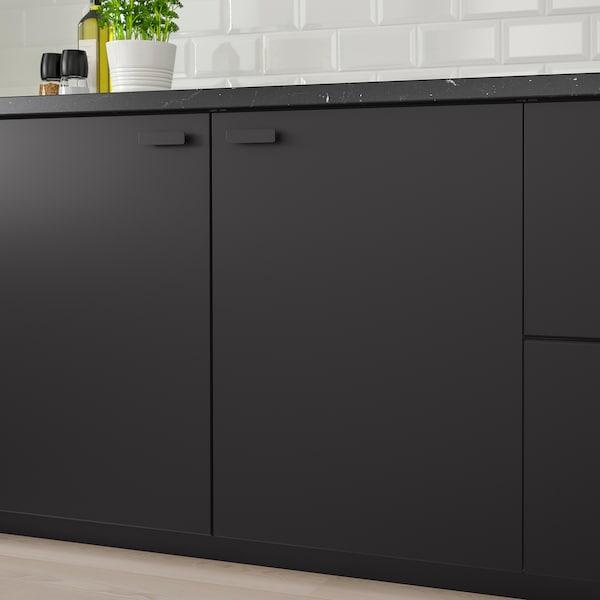 KUNGSBACKA Ajtó, antracit, 40x80 cm