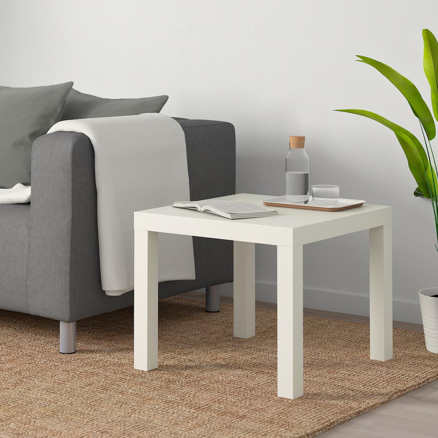 LACK Dohányzóasztal, fekete, 55x55 cm IKEA