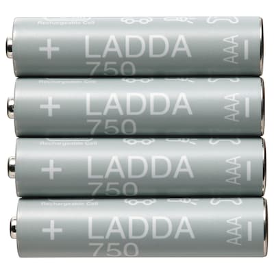 LADDA Tölthető elem, HR03 AAA 1.2V, 750 mAh